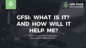 GFSI Training - Safe Food Alliance