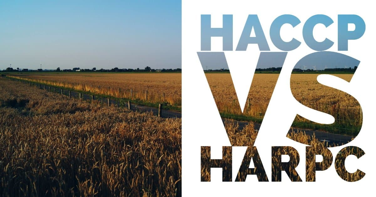What is the difference between the HACCP and HARPC? - Safe